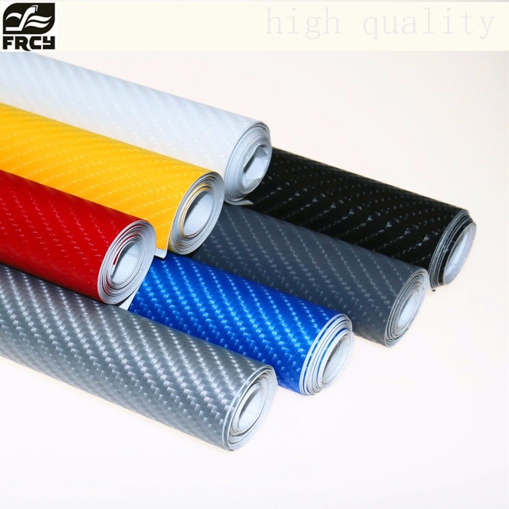 152X10cm 4D Carbon Fiber Vinyl Film 3M Car Stickers Waterproof DIY Motorcycle Car Styling Accessories Wrap With Air free bubbles car styling car sticker 200x50cm 3d 4d carbon fiber vinyl film 3m waterproof diy wrap with retail packaging motorcycle