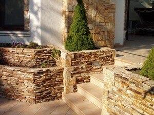 """Image 2 - Plastik Kalıpları ve Alçı duvar taşı çimento karo """"Kırlangıç"""" Dekoratif duvar Plastik kalıp EN IYI FIYAT"""
