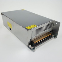 DC 12V LED Light Strip Transformer 42A Power Supply Adaptors Switch 504W Input Voltage AC 110V