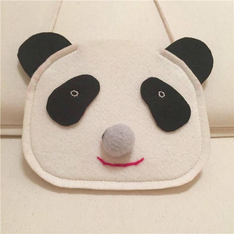Children Cartoon Panda Bag Lovely Children Girls Messenger Bags Kids Shoulder bag Wallet Snack Bags bolsa feminina