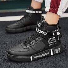 YRRFUOT мужские высокие модные кроссовки тренд популярная удобная мужская повседневная обувь уличная Нескользящая дышащая мужская обувь