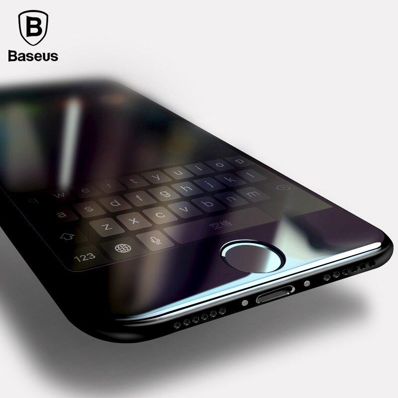 Baseus 0,2mm Vollbild Gehärtetem Glas Für iPhone 8 7 Bildschirm schutz Frontglas Für iPhone 7 Plus 8 Plus Schutzglas