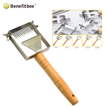 BenefitBee Brand New Uncapping Scraper Beekeeping Tool Stainless Steel Fork Honey Collecting Scrapers Forks Bee