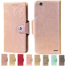 Embossing Stand Flip PU Leather wallet Case Cover Voor ZTE Geek 2 LTE 2 Pro Telefoon gevallen(China)