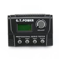 G.T.Power LCD Digital Professional Servo Tester for RC Aircraft Helicopter Car Servo MCU control LN/ED/FP/DB/SP/WP/PW Mode