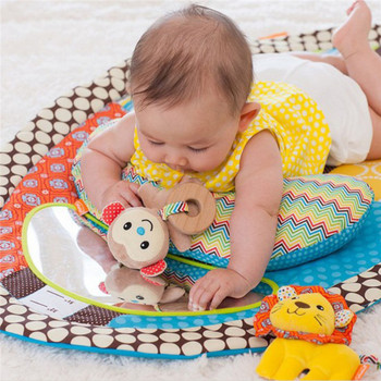 Newborn Baby Soft Mat Round Cartoon Carpet Blanket Play Baby Game For Children Play Bed Carpet New