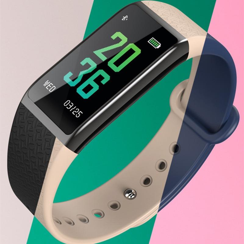 Intelligente Elektronik B25 Farbe Bildschirm Smart Armband Sauerstoff Blutdruck Messung 0,96 Zoll Armband Herz Rate Monitor Smart Band FöRderung Der Produktion Von KöRperflüSsigkeit Und Speichel
