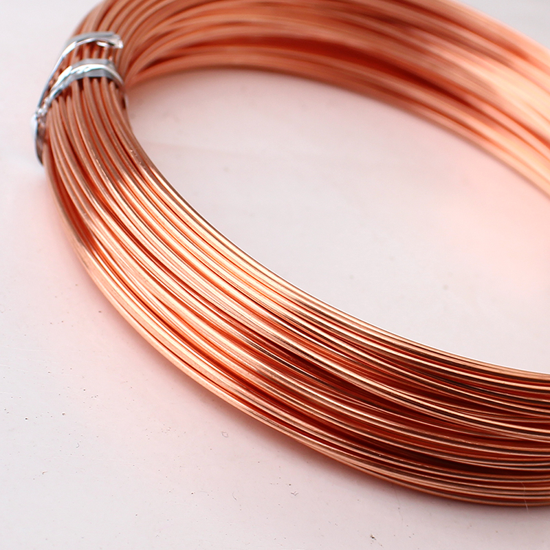 Soft copper wire 18 gauge square wire center 1mm 18 gauge 99 9 pure bare copper soft wire coil for jewelry rh aliexpress com lowes 18 gauge copper wire copper wire gauge chart greentooth Choice Image