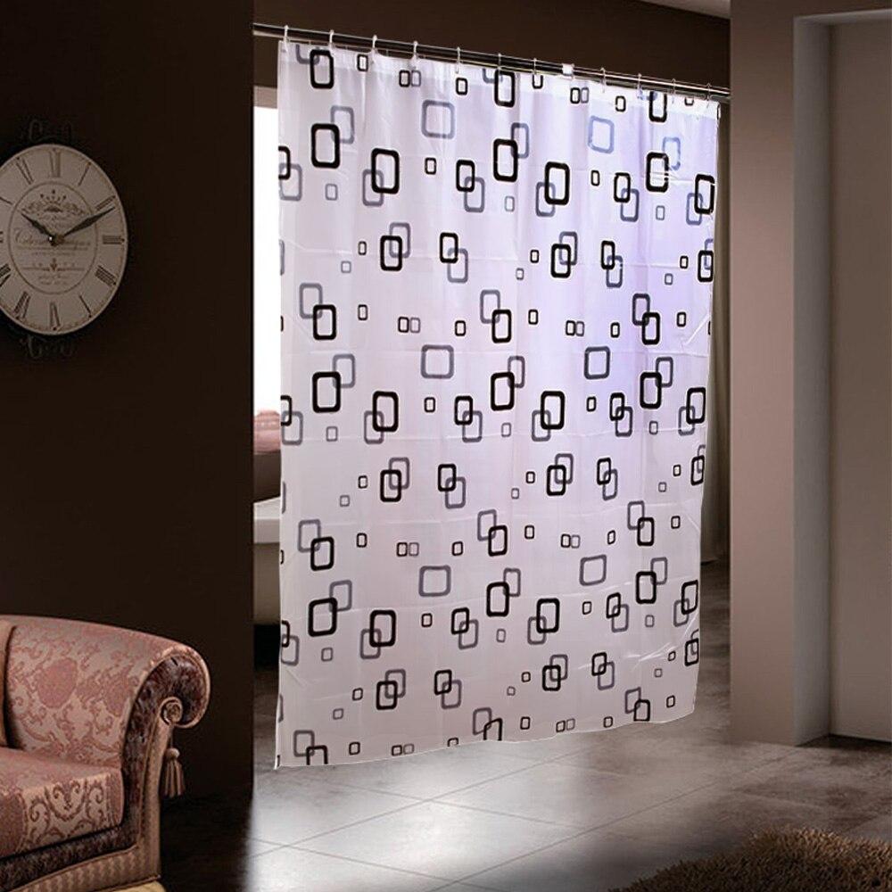 Online kopen wholesale vierkante patroon gordijnen uit china ...