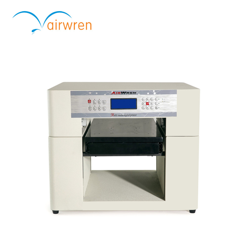 Low Cost Embossed Effect A3 6 Color Uv Flatbed Printer Id Card Printing Machine