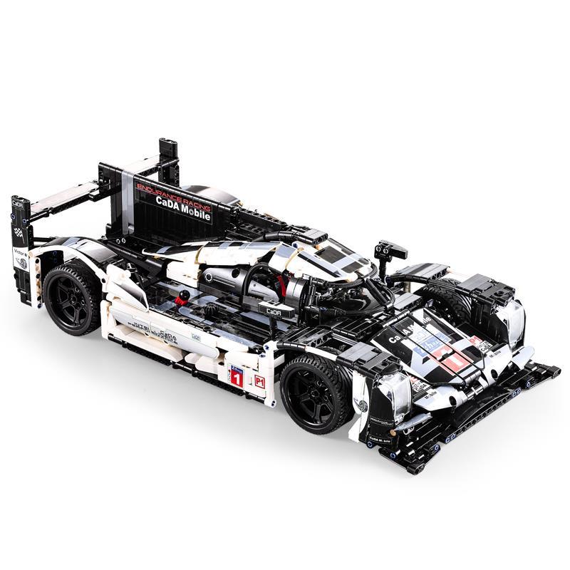 CADA Mobile legoing Technic 1586 pièces Super sport voiture vitesse Champions ville MOC bloc de construction briques bricolage jouets pour enfants cadeaux - 4