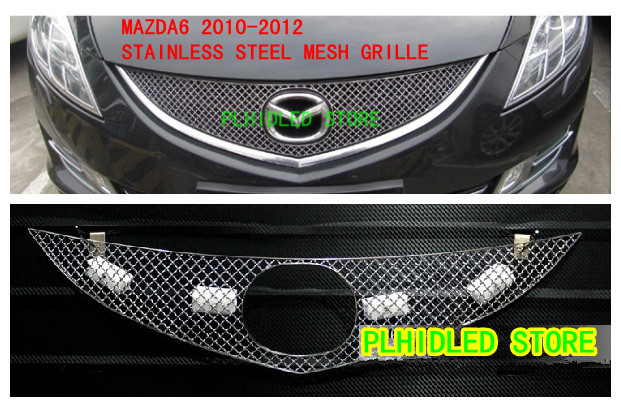 2009 2012 Mazda 6 Stainless Steel Mesh Grille Grill Insert In Racing Grills From Automobiles