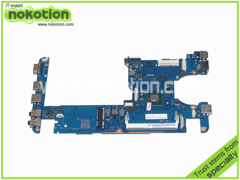 цена на NOKOTION BA92-07686A BA92-07686B Laptop motherboard For Samsung NC110 intel N550 CPU DDR3 mainboard