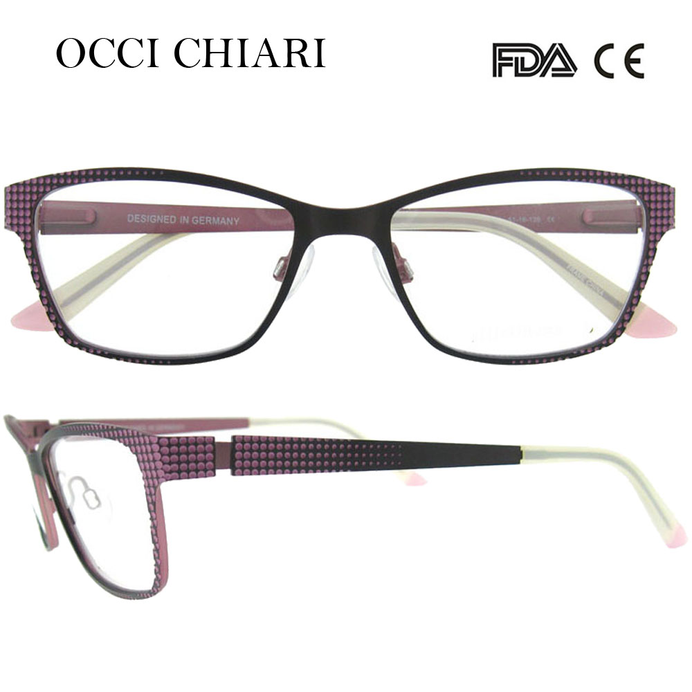 f8254c5775be 2018 stainless steel computer anti-blue ray women metal glasses made in  germany frames eyewear eyeglasses w-cerne
