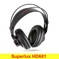 Original Superlux HD681 3 5mm Jack Headphones With Adjustable Headband 9ft Cable Comfortable Full Size Around