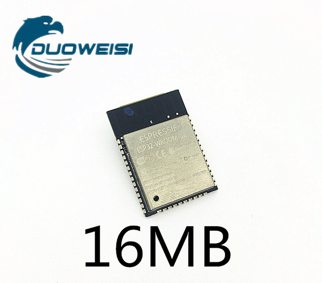 US $5 98 |16MB ESP 32S ESP WROOM 32 ESP32 ESP 32 Bluetooth and WIFI Dual  Core CPU with Low Power Consumption MCU ESP 32-in Replacement Parts &