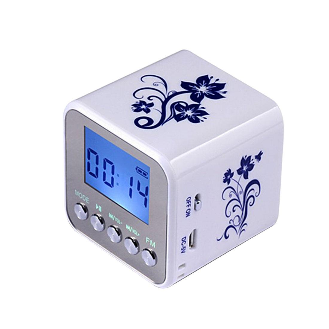 Radio Marsnaska Marke Neue Tt032 Mini Tragbare Digitale Fm Radio Tragbare Radios Unterstützung Sd Karte Lautsprecher Usb Mp3 Spieler Mit Uhr AusgewäHltes Material Tragbares Audio & Video
