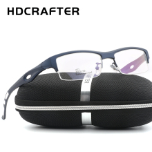 HDCRAFTER Fashion Myopia Frame goggles spectacle tr90 frame eyeglasses optical eyewear frames men glasses