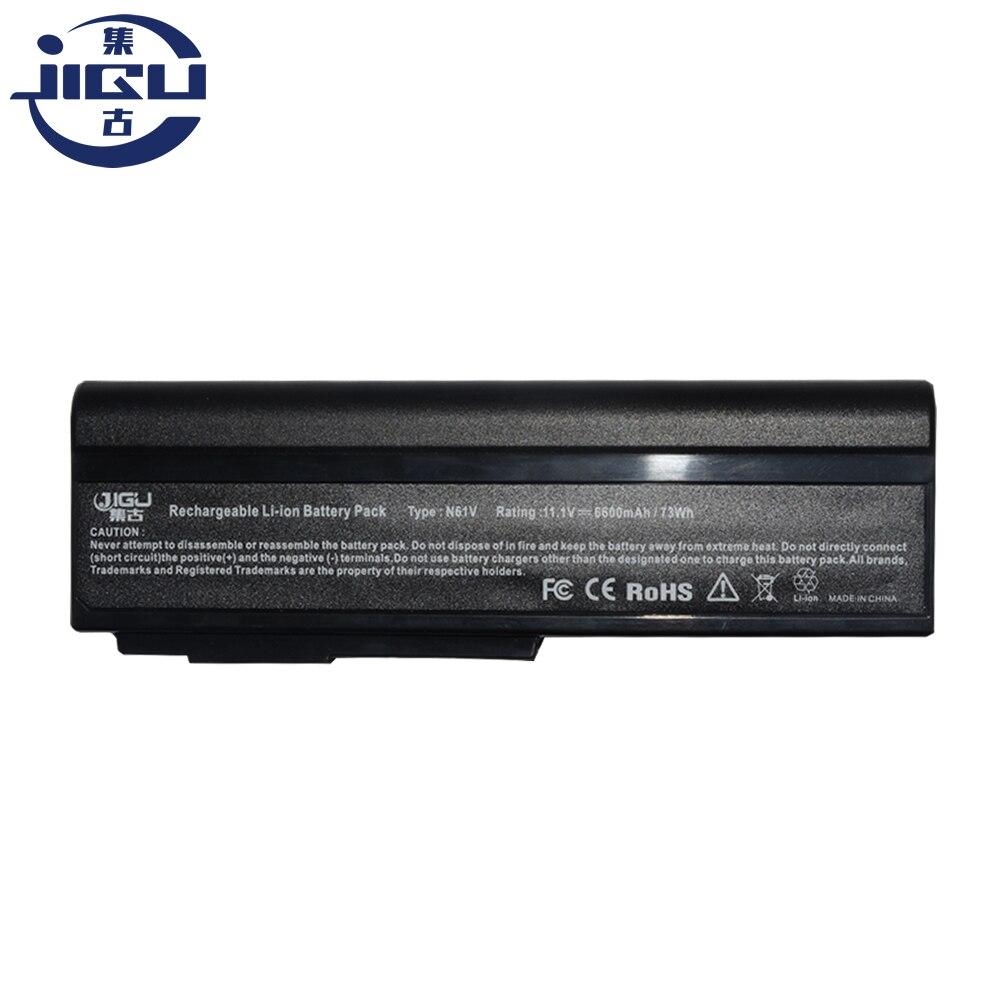 JIGU laptop battery For Asus X55S G50E G50G G51V M50S M50Q N43J M60V M60J N53J N61J N61V X64V X64J X57S X55SV N61W M50SV M50SA