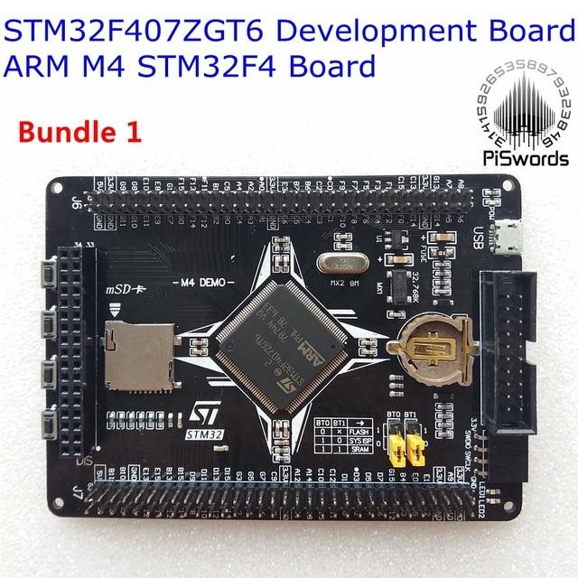 STM32F407ZGT6 Development Board ARM M4 STM32F4 cortex-M4 core Board Compatibility LCD STLINK GSM SENSOR Multiple Extension
