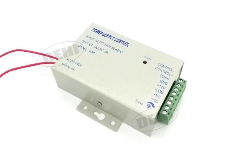 Superior Quality DC 12V 3A Door Access Control Switch Power Supply Input Voltage 110v-240V AC