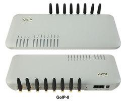 GoIP 8 ports voip gsm gateway/voip sip gateway/IP GSM Gateway/ GoIP8 GSM VOIP Gateway -Hot sell