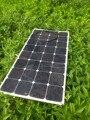 Самые известные солнечные гибкие панели Sunpower 12 В/100 Вт; полу-гибкие; эффективность зарядки солнечных батарей 21.3%
