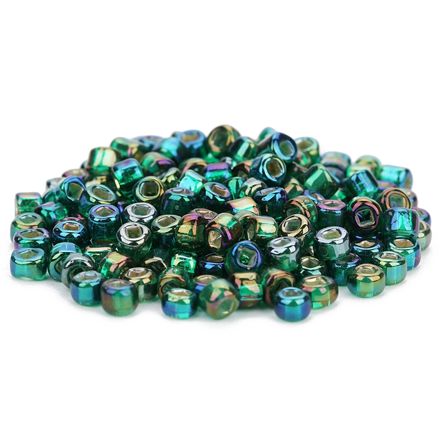 US $5 27 21% OFF|Ckysee 450pcs/lot Multi color Glass Beads Hole 1mm Czech  Seed Beads Glass Loose Spacer Beads For Jewelry Makings Perles Berloque-in
