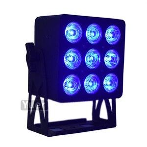 Image 5 - 2Pcs/Pcs/lot Power 6IN1 LED PAR Light RGBWA UV ไฟ LED DMX WASH Effect DJ DISCO Light สำหรับ party Club Bar งานแต่งงานแสง