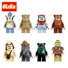Satrwars single sale Ewok Village Tan Tokkat Wicket Star Wars Figures Bricks Building Blocks Star Wars