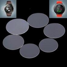 Универсальная круглая защитная пленка из закаленного стекла Защитная крышка экрана для samsung gear huawei Garmin LG MOTO Xiaomi Smart Watch