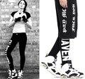Мода Брюки буквы Западное Побережье Harajuku Стиле Falsehaven HBA Trackpants Грузовые Штаны
