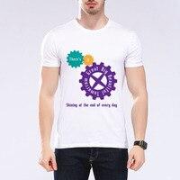 Funny Brand Clothing Comfortable Top Quality Elastic T Shirt Hip Hop Printed T Shirt Streetwear M