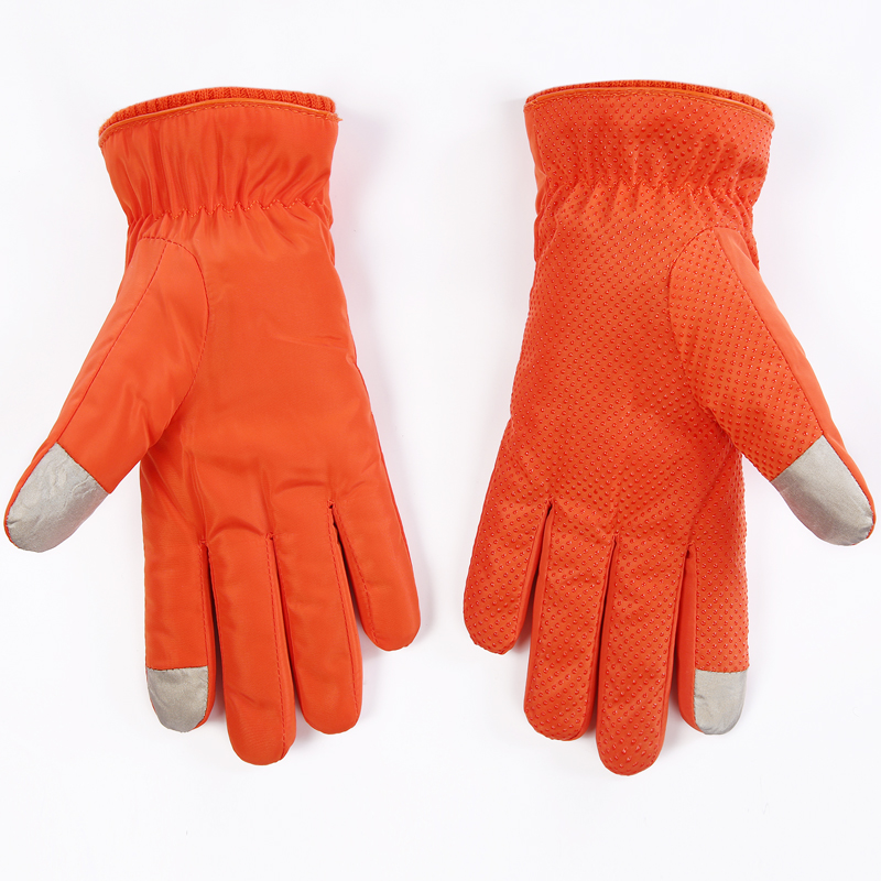 Skiing Gloves magic touch screen Gloves plush ski gloves full point waterproof thermal gloves