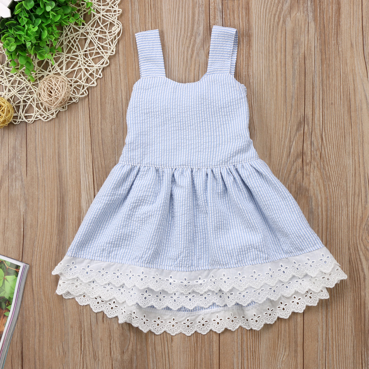 New Arrive Summer Toddler Kids Baby Girls Cute Sleeveless Backless Dress Princess Party Pageant Wedding Tutu Dress Clothes guess guess seductive homme page 6
