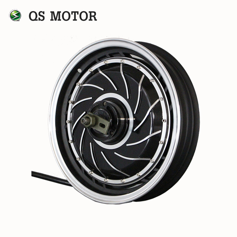 Qs Motor 14inch 273 3000w Electric Motorcycle Kit E Conversion