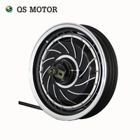 QS Motor 14inch 273 3000W Electric Motorcycle Kit E Motorcycle Kit Electric Motorcycle Conversion Kit