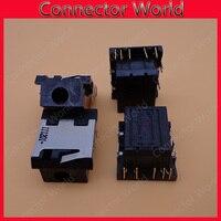 Gniazdo Audio dla Dell Inspiron 15R 5520 M421R 5525 7520 5420 M521R 7720 5537 7420 Laptop słuchawki gniazdo mikrofonu w Złącza od Lampy i oświetlenie na