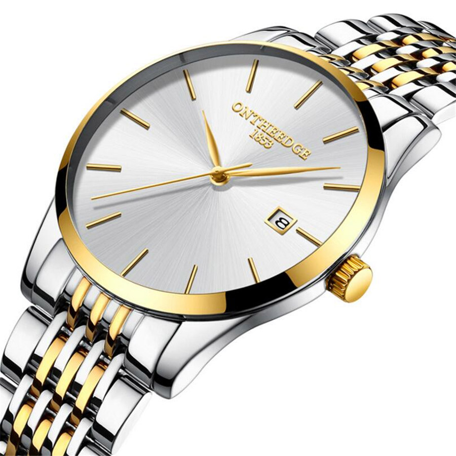 Watch Men Top Brand Luxury Quartz Military Watches Stainless Steel Dress Wristwatch Business Mens Clock Relogio Masculino 2018 kingnuos tops luxury brand men full stainless steel business watches men s quartz date clock men wrist watch relogio masculino
