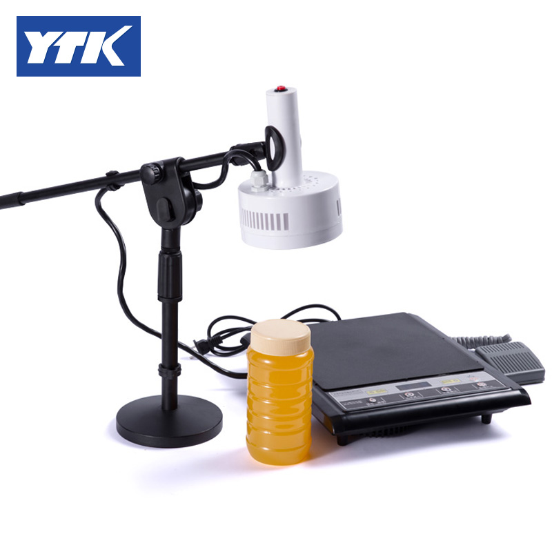 YTK Portable magnetic induction bottle sealer( seal size: 15-100mm ) for of polyester bottles, glass bottles YS-PMB-00 grind portable magnetic induction bottle sealer seal size 15 100mm 0706028l