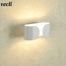 6W LED wall lamp Modern bedroom bedside lamp creative hotel reading light corridor aisle wall living room background wall lamp