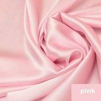 Pink Silk Charmeuse Satin Fabric 16m M