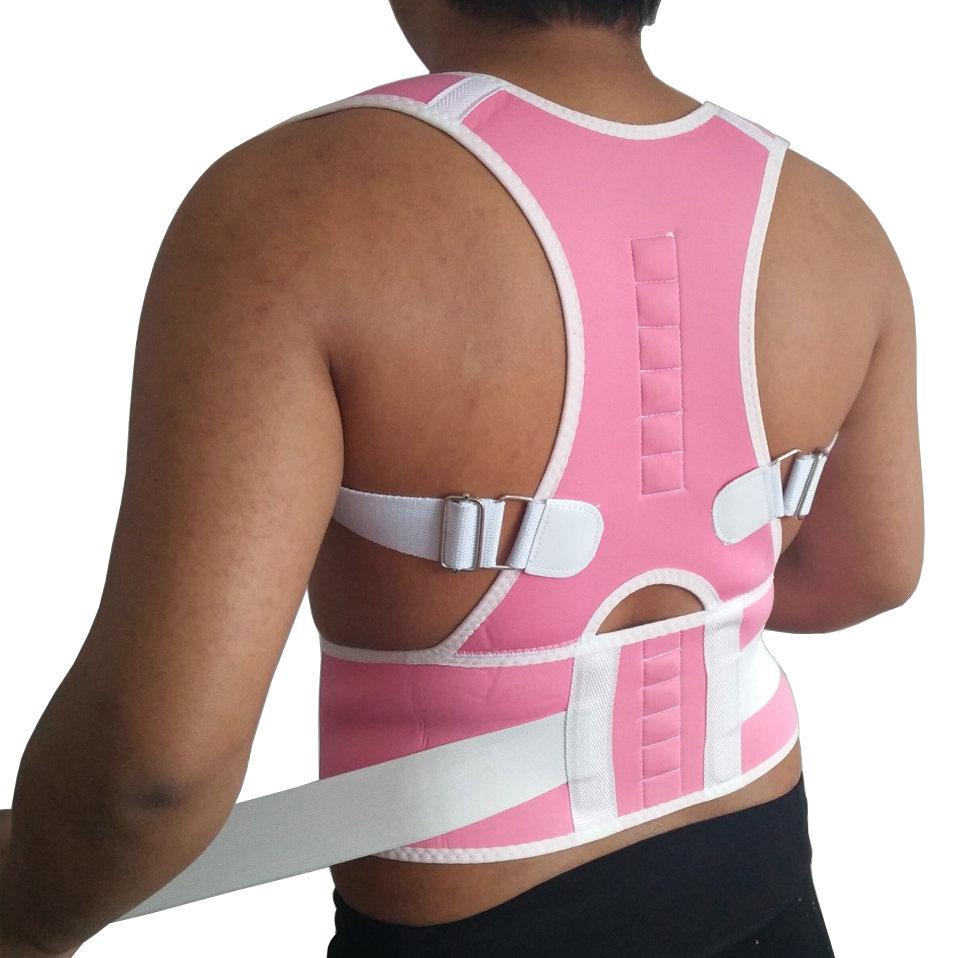 Adjustable Magnetic Postural Lumbar Corset Brace Belts Posture Corrector Back Brace Support Men Women Health Care Products Belts