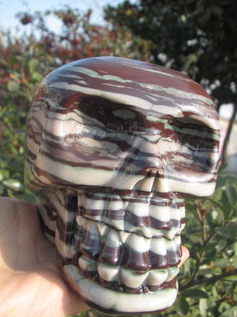 1720g !!!!!!!New varieties Natural quartz crystal skull to heal   B11720g !!!!!!!New varieties Natural quartz crystal skull to heal   B1