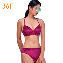 361 Red Sexy Bikini Sets Beach Triangle Paded Bikinis for Women Push Up Bikini Swimsuit Ladies Hot Sprint Swimwear Bathing Suits стоимость