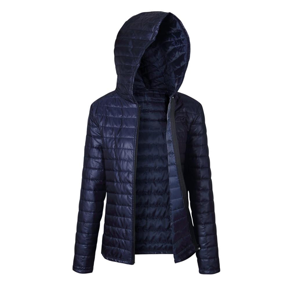 KANCOOLD   Parkas   casual coat High quality hooded Warm Thin Winter Women   Parka   Zipper Coats Plus Size Broadcloth coat nov29