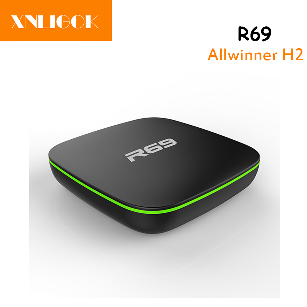 Consumer Electronics Home Audio & Video Hottest Allwinner H2 Android 4.4 Quad-core 1g/8g R69 Android Smart Tv Box 4k Media Player And Mini Keyboard