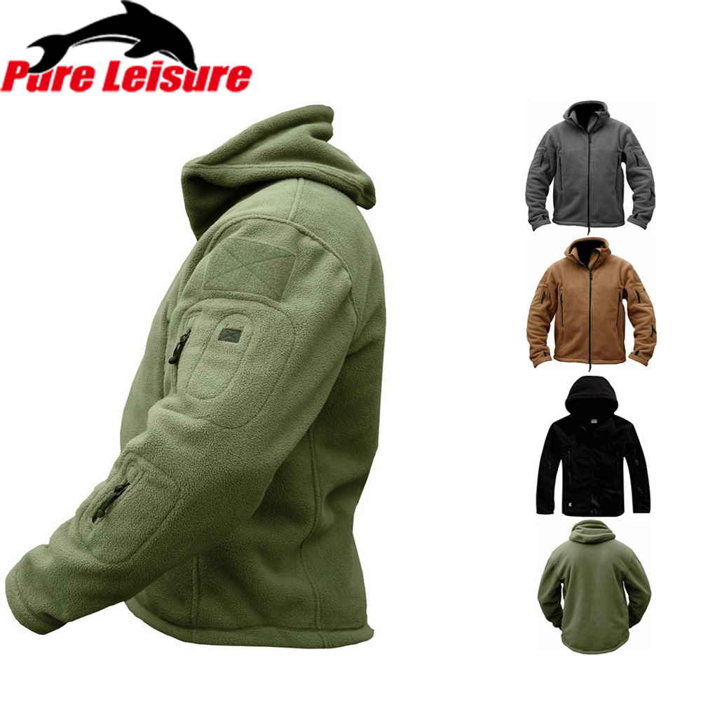 PureLeisure Men Fishing Jackets Solider Tactical Winter Shirts Sportwears Hiking Trekking Fishing Clothes Men Fishing Shirts