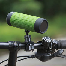 Bicycle LED Light Outdoor Riding Waterproof Card TF Bluetooth Speaker Wireless Speaker Sound System Stereo Music Surround unique design wireless bluetooth levitating speaker 360 degrees surround sound led light floating speaker for smartphones