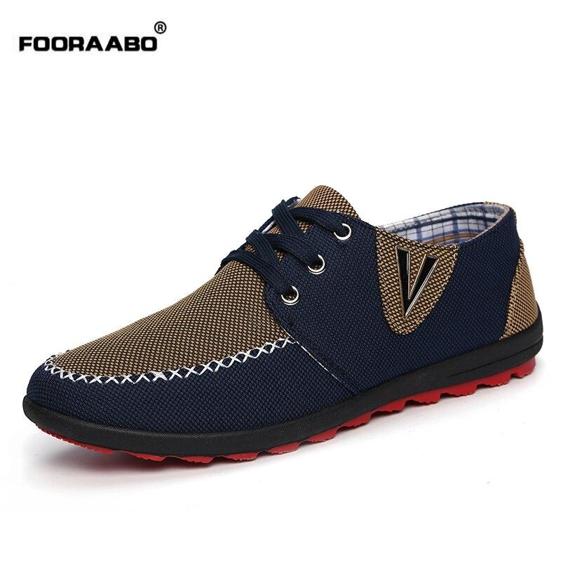 Venta caliente Zapatos de Lona de Los Hombres de Verano de Estilo Británico Zapa